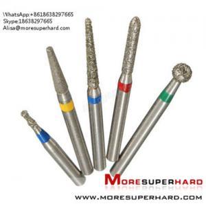 Wholesale Dental Diamond Burs  Alisa@moresuperhard.com from china suppliers