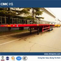 Wholesale tri-axle 20ft 40ft flat bed trailers for sale from china suppliers