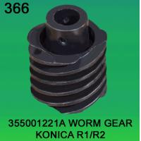Wholesale 355001221A / 3550 01221A WORM GEAR FOR KONICA R1,R2 minilab from china suppliers
