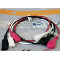 Wholesale Patient Cable LL Style ECG Leadwires 3 Leads Snap AHA ECG Monitor Cable from china suppliers