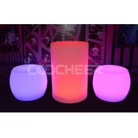 Wholesale Glowing cleanable lighted outdoor furniture with pe plastic material from china suppliers