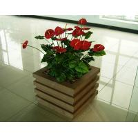 Wholesale wood plastic outdoor planter OLDA-7001 520mm*520mm*526mm from china suppliers