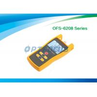Wholesale OFS-6208 Fiber Testing Tool Optical Light Source 295g 1.5V Batteries AC Adaptor from china suppliers