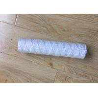 Wholesale 10 Inch 5 Micron PP Yarn String Wound Water Filter Cartridge for Water Purifier from china suppliers