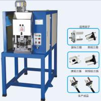 Wholesale Overseas Service Argentina Standard 3 Flat Pin Plug Insert Crimping Machine (SD-3500) from china suppliers