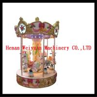 Wholesale 6 seats musical carousel horse for kids and adults from china suppliers