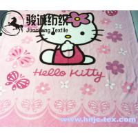 Wholesale 100% Polyester Cartoon Printed Flannel Blanket Fabric Coral Fleece for apparel/bed from china suppliers