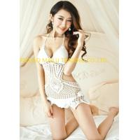 Wholesale Women Hollow Out Crochet Swimwear / Pear Shape One Piece Crochet  Swimsuit from china suppliers