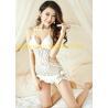 Buy cheap Women Hollow Out Crochet Swimwear / Pear Shape One Piece Crochet  Swimsuit from wholesalers