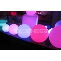 Wholesale Floating Decorations Swimming Pool night light glow balls KB - 3003 from china suppliers
