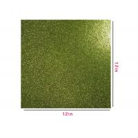 Wholesale 300g Green Glitter Paper , Scrapbooking Double Sided Glitter Cardstock from china suppliers