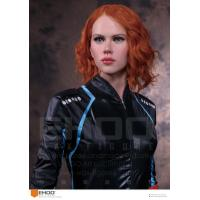 Scarlett Johansson Famous celebrity  Wax Sculpture Artists Skin Color On Display