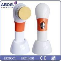 Wholesale Battery Operated Vibration Beauty Facial Massager Brush With 4 Replaceable Applicators from china suppliers