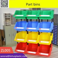 Wholesale stackable plastic bin for warehouse warehouse stackable plastic storage bin for small parts from china suppliers