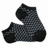 Wholesale Children's/Boys Cotton Socks, Various Colors, Patterns and Sizes are Available from china suppliers