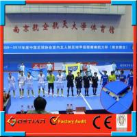 Wholesale Flat Plastic Sport Court Flooring Blue Color Waterproof For School from china suppliers