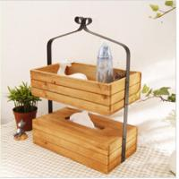 Wholesale New design Cheap Printed wooden tissue box from china suppliers