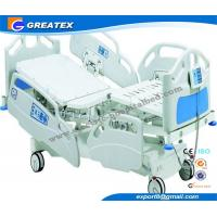Quality Remote Handset Control Electric hospital adjustable beds for home , hospital icu bed for sale