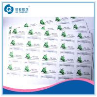 Wholesale Scratch Card Stickers , Glossy Security Stickers For Computers / Stationery from china suppliers