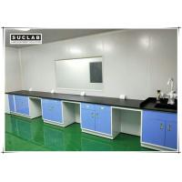 Wholesale Steel Lab Wall Bench With Corrosion Resistant Worktop In Pharmaceutical Company from china suppliers