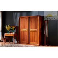Wholesale Household Custom Bedroom Wardrobes , Modern Two Sliding Door Wardrobes from china suppliers