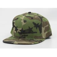 Wholesale Camo 100% Acrylic Printed Army Baseball Caps / Snapback Hats For Man from china suppliers