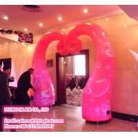 Wholesale 4m Oxford Twisty Inflatable Wedding Arch for Wedding Decoration from china suppliers
