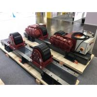 Buy cheap 380V 50Hz 3 Phase 20 Ton Tank Turning Rolls With One Drive Unit And One Idler Unit from wholesalers