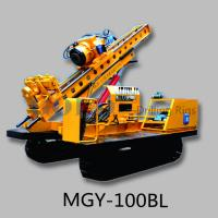 Wholesale MGY-100BL slope stabilization Hydraulic anchor drilling rig from china suppliers