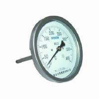 Wholesale 60mm Axial Whole Steel Bimetal Thermometer with High Accuracy from china suppliers