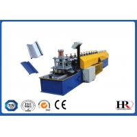 Wholesale 0.6 - 0.8mm Thickness Metal Shutter Roll Forming Machine With 180mm Feeding Coil Width from china suppliers