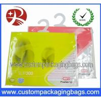 Wholesale Apparel Plastic Hanger Bags With Multicolor , plastic bags printed from china suppliers