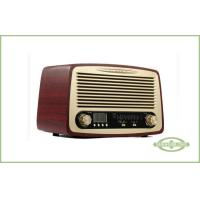Wholesale Wood Cabinet Classic Style Radio , Desktop Type , with Alarm Clock , LCD Display from china suppliers