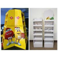 Quality Floor Standing Cardboard POS Displays for sale