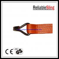 Wholesale Cargo Lashing Ratchet Strap Hooks , ratchet tie down wire / doule j hook from china suppliers