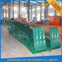 Wholesale Adjustable Warehouse Container Loading Ramps , Electric Container Yard Ramp from china suppliers