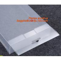Wholesale Oem Clear Plastic Soft Crease Folding box for brush packaging, plastic boxes PVC plastic rectangle fold box packaging PV from china suppliers