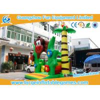 Wholesale PVC Tarpaulin Monkey Jumping Inflatable Bouncy Castle With CE and TUV from china suppliers