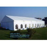 Wholesale 100 People Outdoor Event Tents 10*10m Beer Festival On Promotion , Large Party Tents from china suppliers