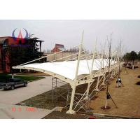 Wholesale Temporary Car Parking Tensile Structure Parking Lot Shade Awnings With Membrane Sail from china suppliers