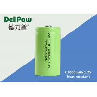 Wholesale Green Power C3000mAh High Temperature Rechargeable Battery 1.2 Volts from china suppliers