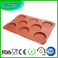 Wholesale Silicone bread loaf pan baking form with hole with fiberglass reusable for above 4000 times from china suppliers