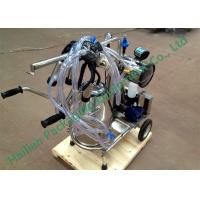 Wholesale Hand Operated Mobile Milking Machine Household Cows Milking from china suppliers