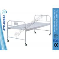 Wholesale Moveable Powder Coated Simpe Flat Standard Hospital Bed With Fixed Steel Board from china suppliers