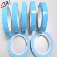 Wholesale High Performance blue Acrylic Thermal Adhesive Tape 1.2 W/mK For Led Fluorescent Lamp 0.1~0.5mmT from china suppliers