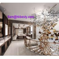 Quality jewelry mall kiosk design and manufacture of kiosk furnitures and lightings for sale