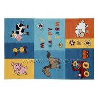 Wholesale Hand-tufted Blue Kids Play Area Rug, Children Cartoon Patterned Rugs from china suppliers
