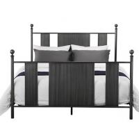 Quality Double Size Antique Wrought Iron Bed Frame Cool Design For Boys for sale
