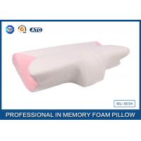 Wholesale Pink Curved Memory Foam Pillow with air hold Comfort head , face , neck , and hands for kids from china suppliers