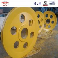 Wholesale AISI DIN Q235 Alloy Steel Crane Sheave Pulley For Marine Grab Bucket GB from china suppliers